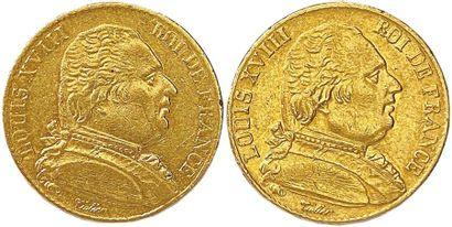 LOUIS XVIII Première restauration 1814-1815...