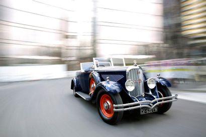 1932 Panhard & Levassor Type X66 6DS Cabriolet
