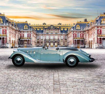 1936 Delahaye 134N Cabriolet Labourdette