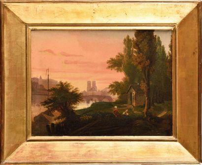 Aimée RIDAN*** école FRANÇAISE vers 1840...