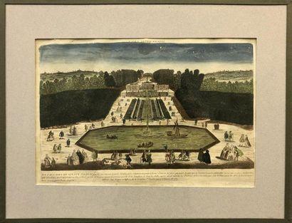 HORS PARIS –Vue de Fontainebleau du côté...