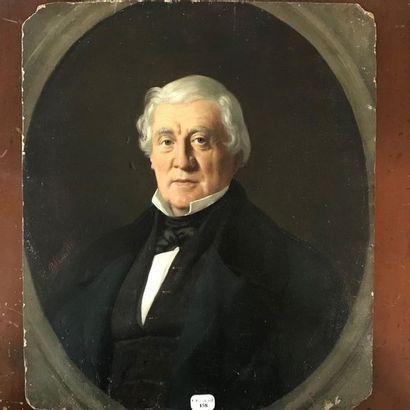PORTRAIT du comte de Saint Ferriol  Huile...