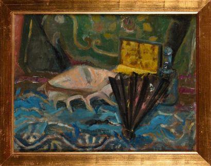 JEAN VENITIEN (1911-1995)  Vénitien  Huile...