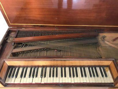 Piano forte de Guillaume Zimmermann  signé sur la gorge : « Wilhelmus Zimmerman...