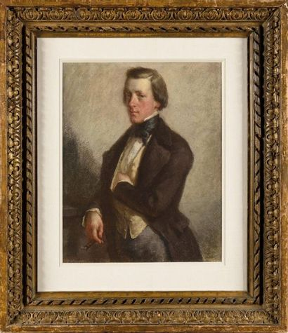 Jean-François MILLET (1814-1875) Portrait...