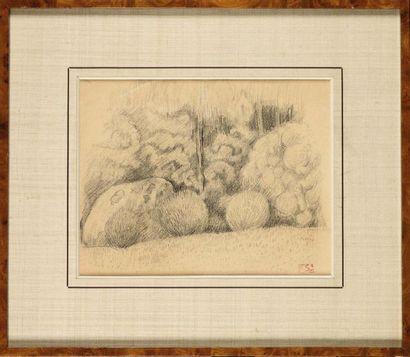 Paul SERUSIER (1864-1927) L'orée du bois...