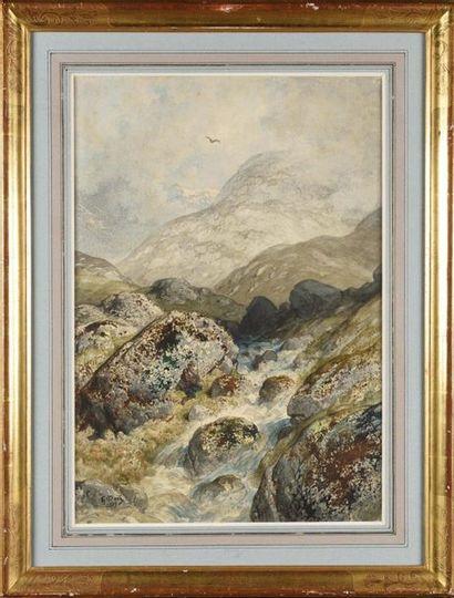 Gustave DORE (1832-1883) Pêcheur au bord...