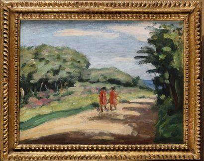 Attribué à Albert ANDRE (1869-1954) Paysage...