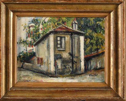 Elisée MACLET (1881-1962) La maison de Berlioz...