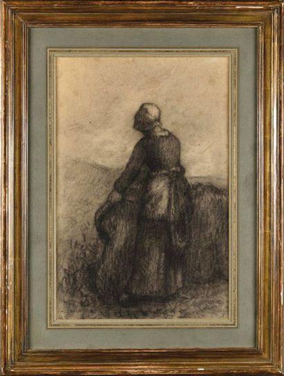 Attribué à François Charles MILLET (1851-1917)...