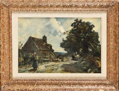 Johan Barthold JONGKIND (1819-1891) Route...
