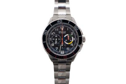 ZENITH El Primero Stratos Flyback. Montre pour homme en acier 3.2061.405. ref: 293428....