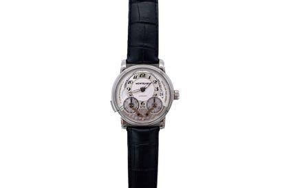 MONTBLANC NICOLAS RIEUSSEC Chronographe bracelet...