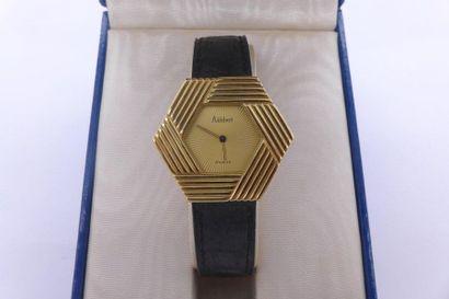 ALDEBERT VERS 2000 Montre bracelet en acier...