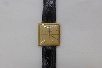 CORUM VERS 1970 Montre bracelet pour homme en or jaune 18K Longchamp, remontage...