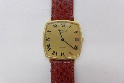 CHOPARD Genève, ref. 2062, n° 99415 VERS 1980 Montre bracelet en or jaune 18K (750)....