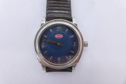 BUGATTI CALANDRE AUTOMATIQUE - MEDIUM, vers 1990 ANNEES 20 Rare montre en forme...