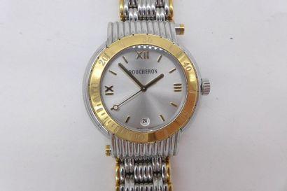 BOUCHERON REFLET SOLIS VERS 2000 N°AG212338 Montre bracelet pour homme en or jaune...