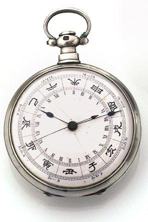 EEWAY FLEURIER Importante montre de poche...