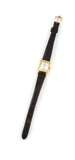 ROLEX Montre bracelet en or jaune 18K. ROLEX...