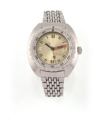 DOXA SUB 300T. Suisse vers 1970 Montre-bracelet...