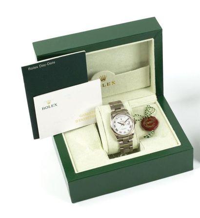 ROLEX DAY-DATE. Ref: 118209. N°P446992. Vers 2007. Montre bracelet pour homme en...