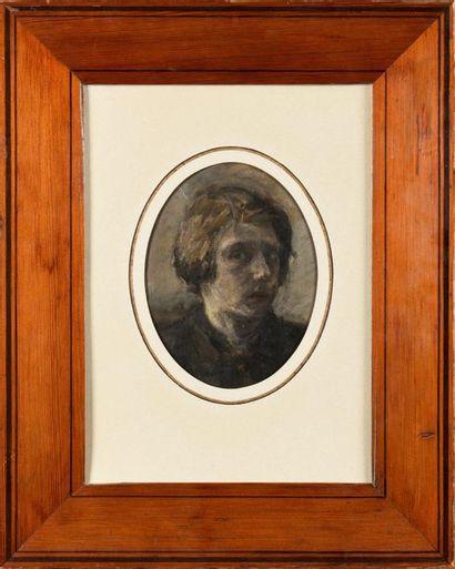 ÉCOLE FRANÇAISE, XIXè SIÈCLE Autoportrait...