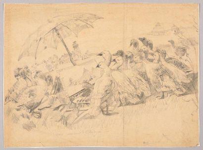AUGUST FRIEDRICH SCHENCK (1828-1901) Les...