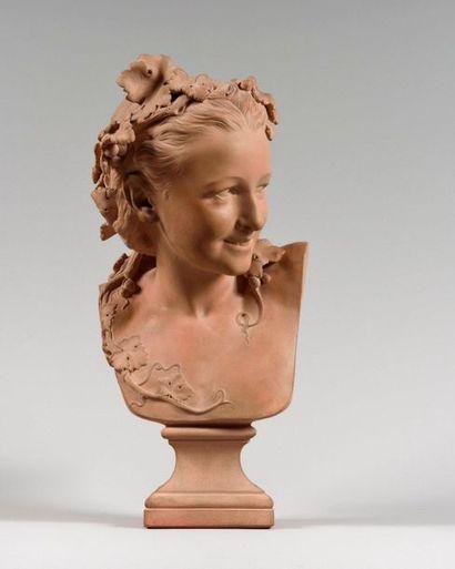 JEAN-BAPTISTE CARPEAUX (1827-1875) L'Espiègle,...