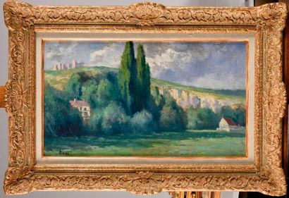 MAXIMILIEN LUCE (1858-1941) Les environs...