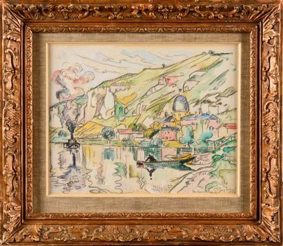 PAUL SIGNAC (1863-1935) Les Andelys, 1926...