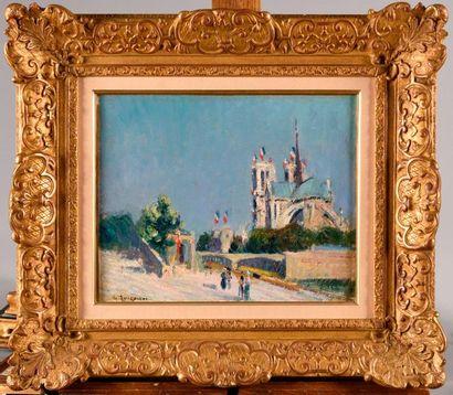 GUSTAVE LOISEAU (1865-1935) Notre Dame de...