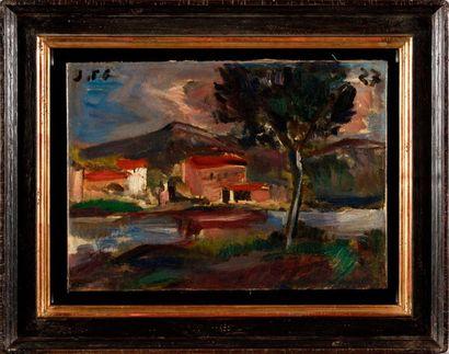 JOAQUÍN TORRES GARCÍA (1874-1949) La rivière...