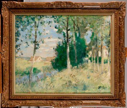 PIERRE EUGÈNE MONTEZIN (1874-1946) Bord de...
