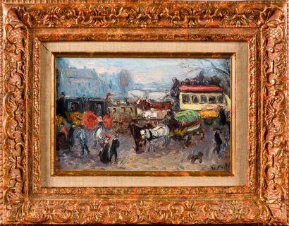 ÉMILE OTHON FRIESZ (1879-1949) L'Omnibus,...