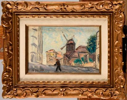 CHARLES CAMOIN (1879-1965) Le moulin de la...