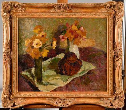 MARCEL COUCHAUX (1877-1939) Nature morte...