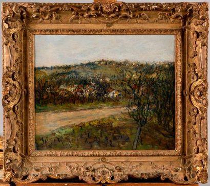 MAURICE UTRILLO (1883-1955) Paysage à Montmagny...