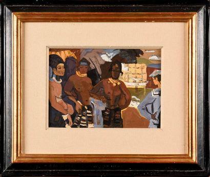 ANDRÉ LHOTE (1885-1962) Jugement de Paris,...