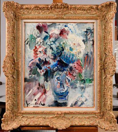 GEN-PAUL (1895-1975) Grand vase de fleurs...