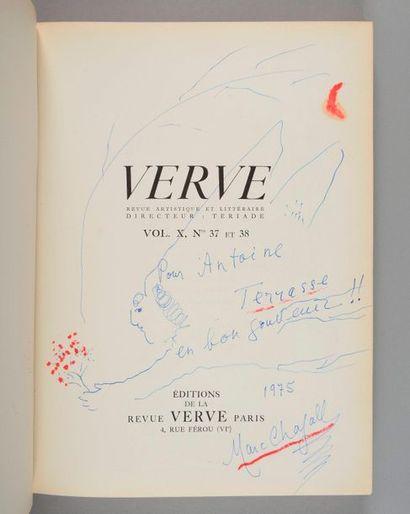 Verve Revue artistique et littéraire Vol....