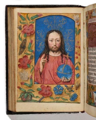 Atelier ganto-brugeois de Simon Bening, premier quart du XVIe siècle Livre d'Heures...