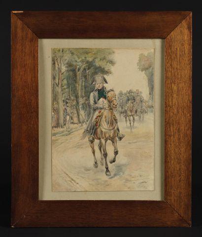 EDOUARD DETAILLE (1848-1912) L'Empereur Napoléon...