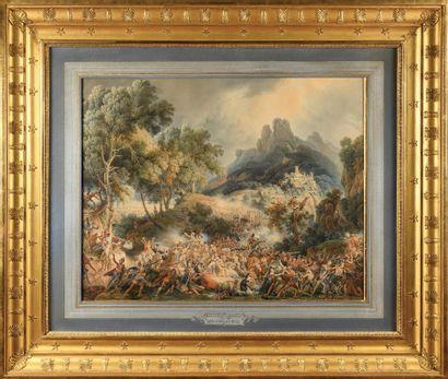 LOUIS FRANÇOIS LEJEUNE (1775-1848) Attaque...