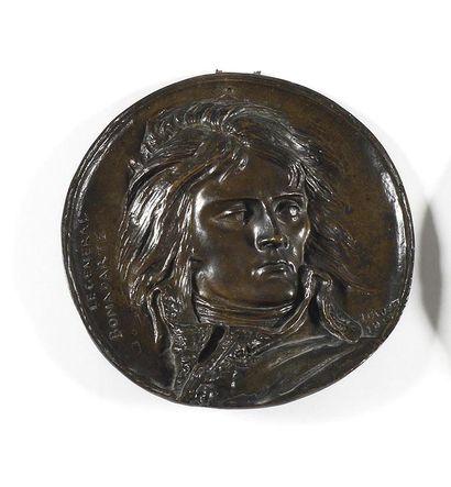 DAVID D'ANGERS Le Général Napoléon Bonaparte...