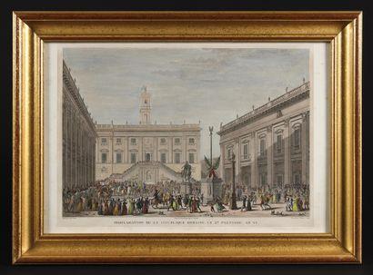 CAMPAGNE D'ITALIE -Ecole français du XIXe...
