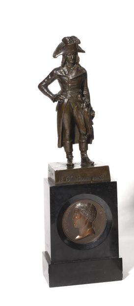 ANTONIN MOINE, D'APRES. Le général Bonaparte...