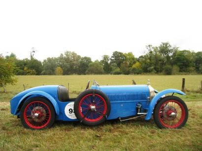 1929 RALLY Type ABC 1100 « Sport » Châssis n° 490 K Moteur SCAP n° T11 8645 SGS Sur...