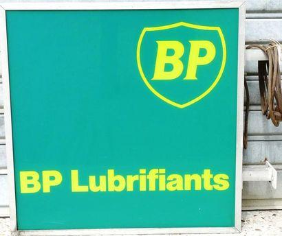 Enseigne lumineuse BP double faces (65 x...