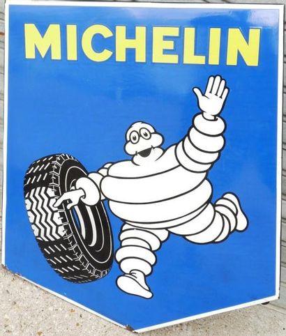 Plaque émaillée Michelin (112 x 86 cm)
